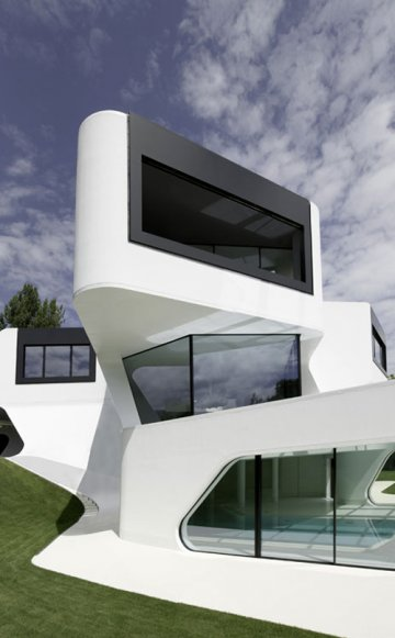 Dupli.Casa House : Purity with J.MAYER H. Architects
