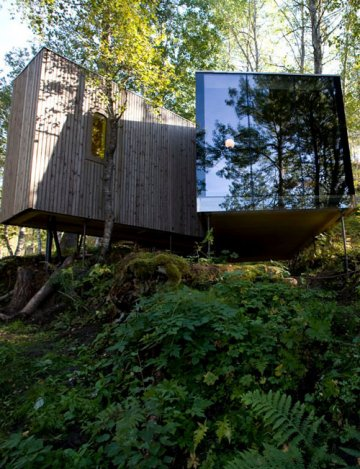 Juvet Landscape Hotel : Do not disturb, les oiseaux dorment…