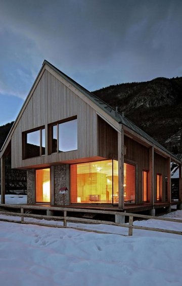 6x11 Alpine Hut : OFIS Architects' retraite