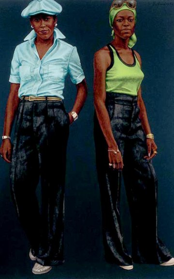 Barkley L. Hendricks : The Birth of the cool and the death of the master