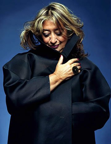 2006 Personality of the Year: Zaha Hadid : Zaha Hadid: the First woman architect to receive the Pritzker Architecture Prize