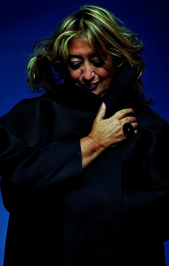 Portrait of Zaha Hadid_Steve Double