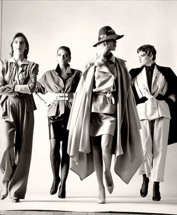 Big dressed, 1981 by Helmut Newton