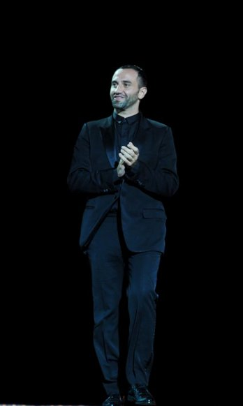 Oi Fashion Rocks Brasil/Designer Riccardo Tisci during the Givenchy fashion show at the Oi Fashion Rocks at the Jockey Club_Fayal-LatinContent-Getty Images