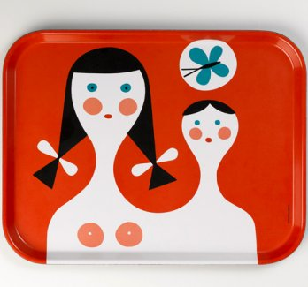 George Nelson2/Charles & Ray Eames, Alexander Girard, George Nelson, 1944_Classic Trays