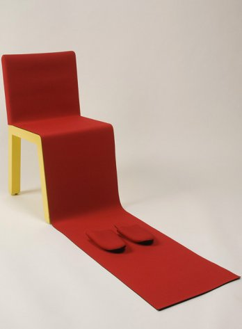 Québec en Design/Cédric Sportes, Chaise HIH (« Honey I'm Home ») (Détail) Chair, 2002_Coll. MNBAQ