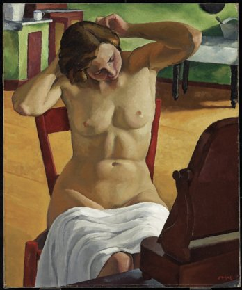 Nu_Nude/Edwin H. Holgate, Intérieur_Interior, vers-about 1933_Art Gallery of Ontario, Toronto