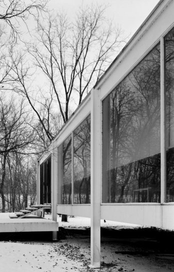 Farnsworth House by Mies van der Rohe_Plano, USA
