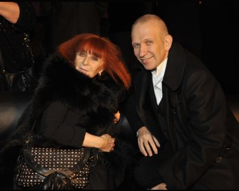 Sonia Rykiel & Jean Paul Gaultier_Sonia Rykiel for H&M - Launch event at the Grand Palais in Paris_Getty Images