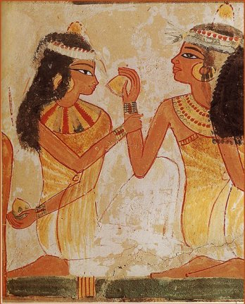 Perfumes/Égyptiennes 1300 B.C_Africa