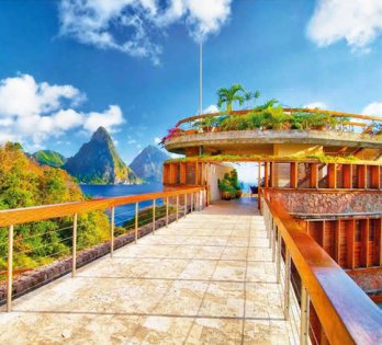 Jade Mountain, St Lucia_Exterior View_Derek Galon
