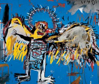 Jean-Michel Basquiat_Fallen Angel, 1981_New York_USA