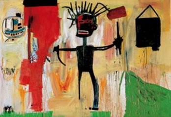 Jean-Michel Basquiat, Auto portrait_New York_USA
