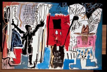Jean-Michel Basquiat, Obnoxious Liberals, 1982_New York_USA