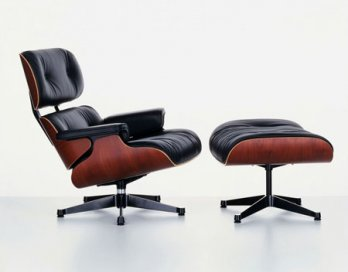 Charles & Ray Eames_Eames Lounge Chair & Ottoman, 1956_Hans Hansen_Vitra Collection AG_Allemagne