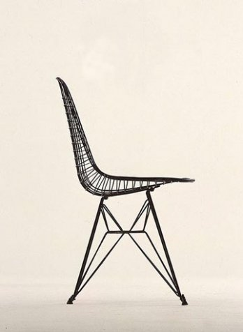 Charles & Ray Eames_Experimental Wire & Rod Chair Shell, 1951_USA