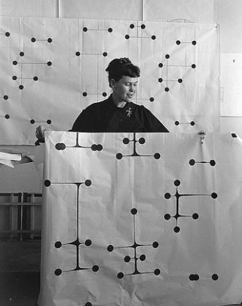 Ray Eames_Dot Pattern Fabric Design, 1947_San Francisco_USA