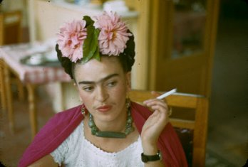 Frida Kahlo by Nicolas Muray, 1944_Mexico