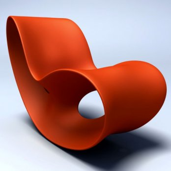 Ron Arad_Voido Rocking chair