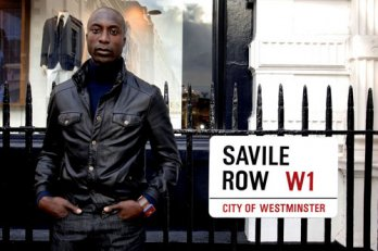 Ozwald Boateng at Savile Row