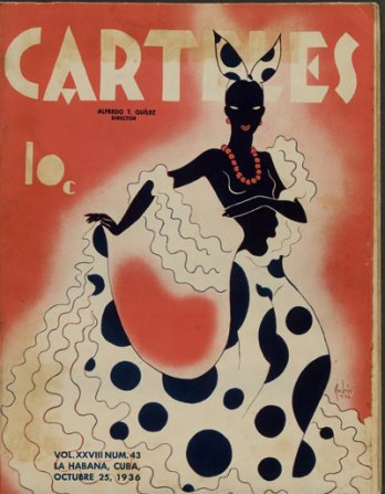 Andres Garcia Benitez_Cover of the magazine Carteles, Havana, October 25, 1936_MMFA, Brian Merret