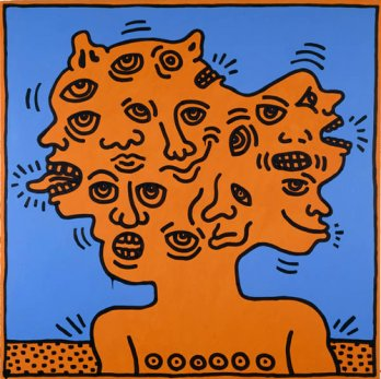 Keith Haring_Untitled, 1984
