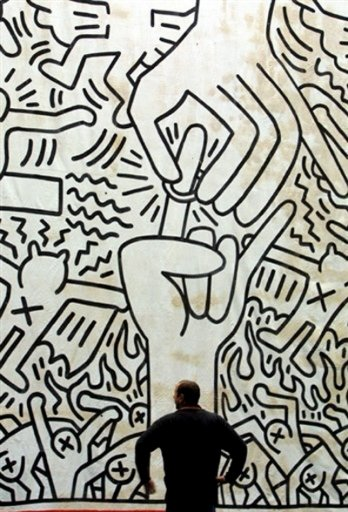 Keith Haring_AFP