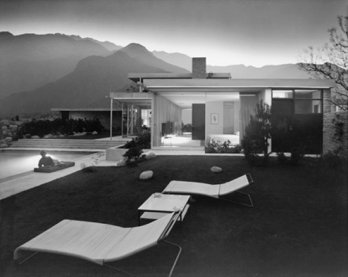 Julius Shulman_Kaufmann House_Richard Neutra, 1946