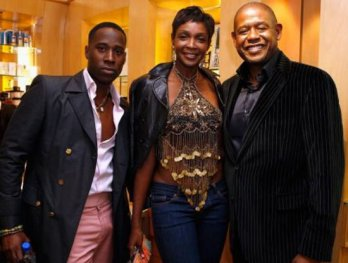 Nana Boateng, Roshumba Williams, Forest Whitaker