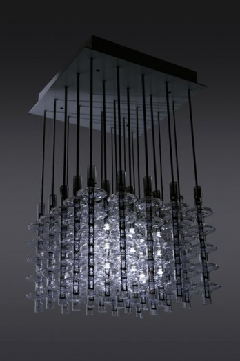 Jean Louis Frechin_Wanetlight M, suspension � variation lumineuse 3D