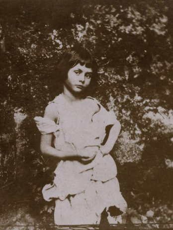 Lewis Carroll, Alice Liddell as a beggar child, 1859_© Graham Ovenden collection, courtesy Akehurst Creative Management