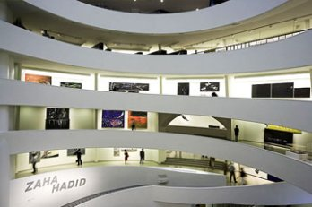 Zaha Hadid Exhibition_Guggenheim Museum_New York_2006