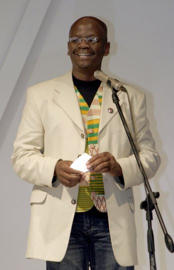 Sonwabile Ndamase, Executive president of the South African Fashion Designers Agency