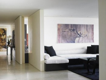 Donna Karan's Apartment in Manhattan_Richard Powers
