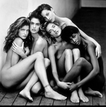Herb Ritts_Stephanie, Cindy, Christy, Tatjana, Naomi
