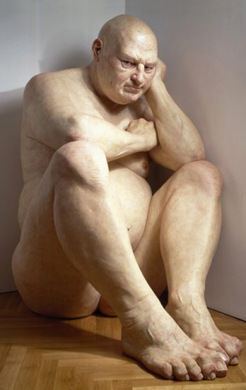 Ron Mueck_Big Man