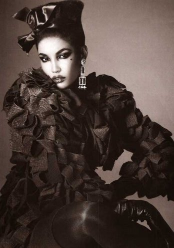 VOGUE Italia_Last Dazzle by Steven Meisel