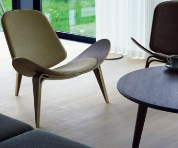 Shell Chair by Hans J. Wegner