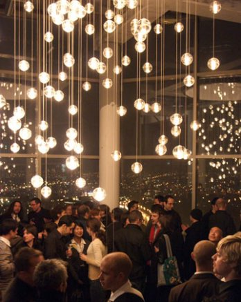 Omer Arbel_1.4 Pendant lights_Penthouse, Vancouver