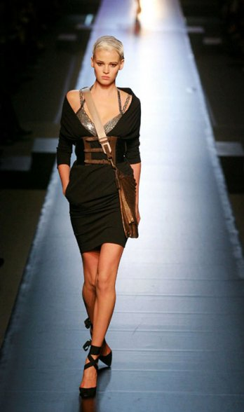 Jean-Paul Gaultier_2009 Spring-Summer Collection_Boisi�re pour SIPA