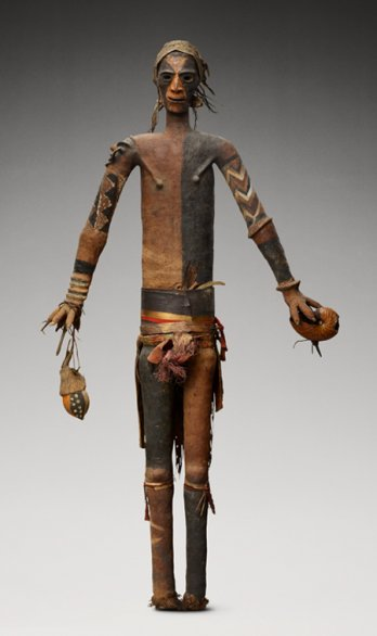 Oceania - Ritual signs, authority symbols/Figure anthropomorphe,  rambaramp_Vanuatu, Malekula Sud
