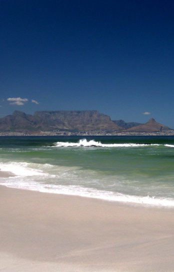 Helen Zille/Table Mountain Cape Town