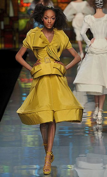 Collections haute Couture Printemps:Été 2009/Dior_John Galliano