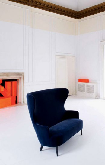 Tom Dixon by George Smith/Wingback Sofa