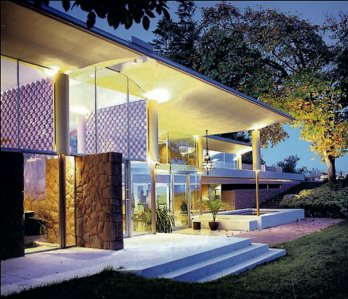 Arthur Erickson/Filberg House - 1133 Moore Rd, Comox, Vancouver Island, BC, Built in 1959