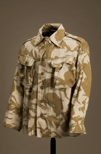 Jacket, Two-colour Tropical Desert Pattern, United Kingdom, 1990