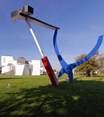 Balancing Tools by Claes Oldenburg and Coosje van Bruggen