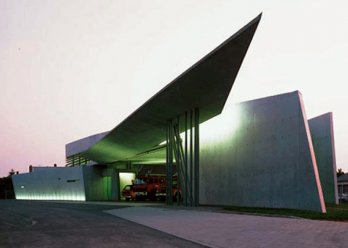 Fire Stationby Zaha Hadid