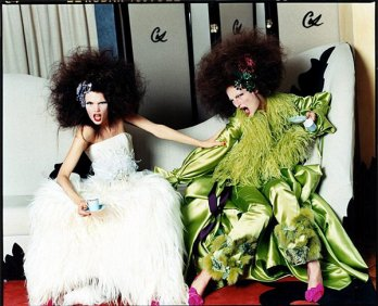 Christian Lacroix, German Vogue Collections Couture, 2004