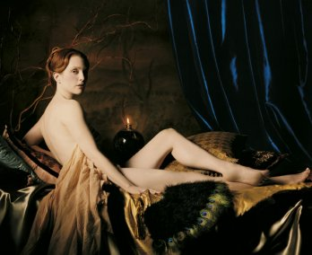 Julianne Moore as Ingre's Grand Odalisque, NY_Michael Thompson